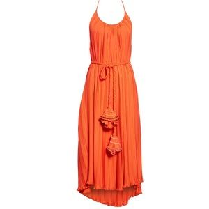 Rachel Comey Sambuca Halter Dress Orange NWT 2